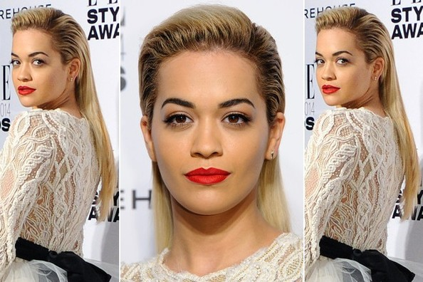 Rita Ora Masters the Art of Red Carpet Masculine Femininity