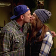 Luke and Lorelai ('Gilmore Girls: A Year in the Life')