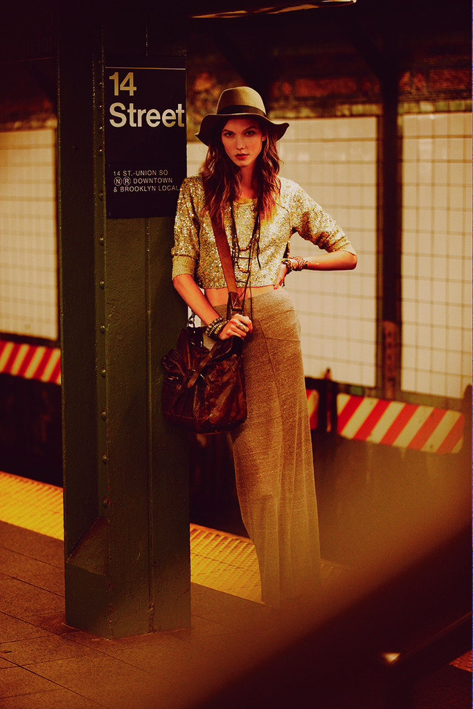 #TBT: Karlie Kloss in the Best NYC Campaign Ever