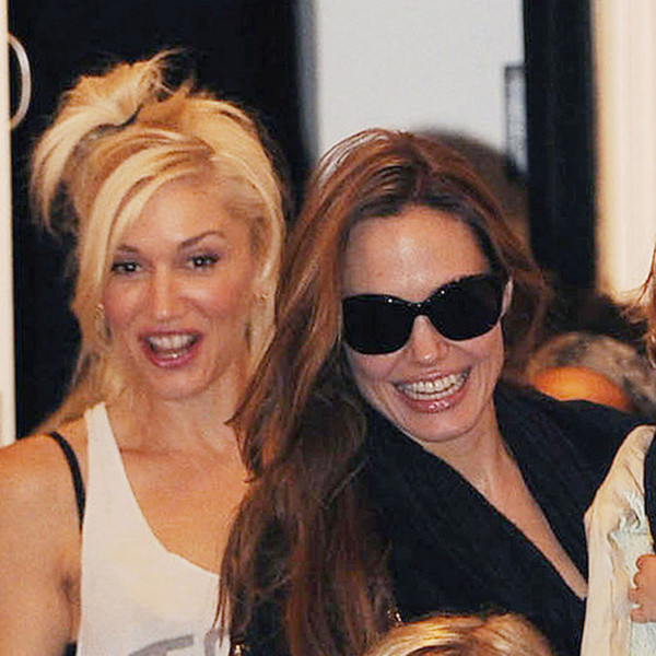 Celebrities You Didn T Know Were Friends: Gwen Stefani And Angelina Jolie