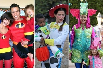 Celebrities' Kids in Halloween Costumes
