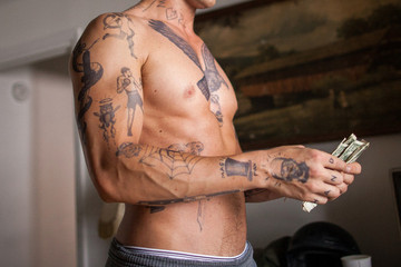 Can You Match the Tattoo to the Movie and Actor Who Wears it?