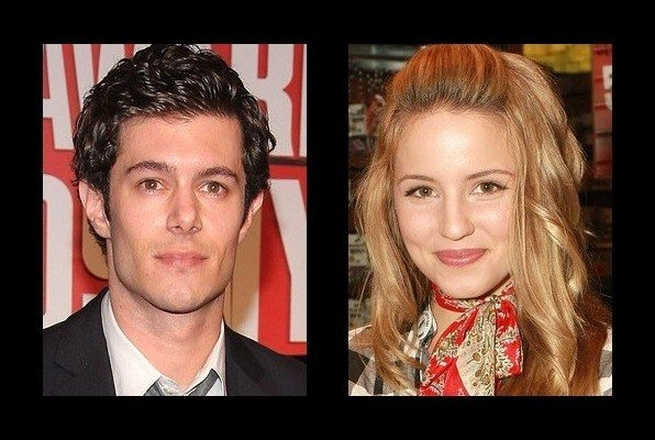 Adam Brody was rumored to be with Dianna Agron - Adam ...