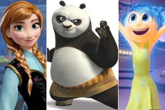 Cartoon Characters Movies : Can you name the famous voices behind these animated movie