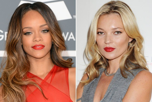 Rihanna & Kate Moss Strip Down For 'V' Magazine [VIDEO]