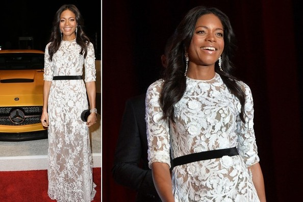 Naomie Harris is an Absolute Vision in White Lace