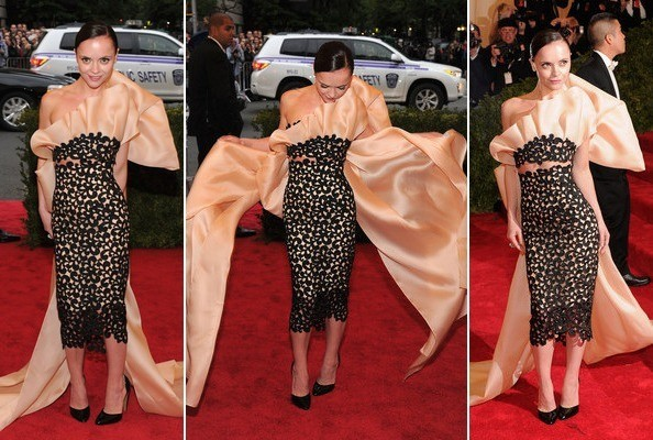 Hot or Not: Christina Ricci's Bountiful Met Gala Bow