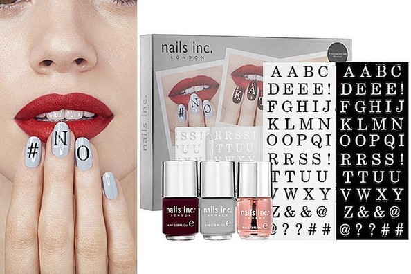 Super Cute Alert: Nails Inc. Monogram Manicure Kit