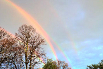 This Quadruple Rainbow Is the Coolest Thing You'll See All Day