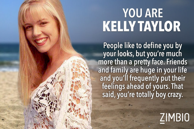 Kelly Taylor - Which Beverly Hills 90210 Character Are You? - Zimbio