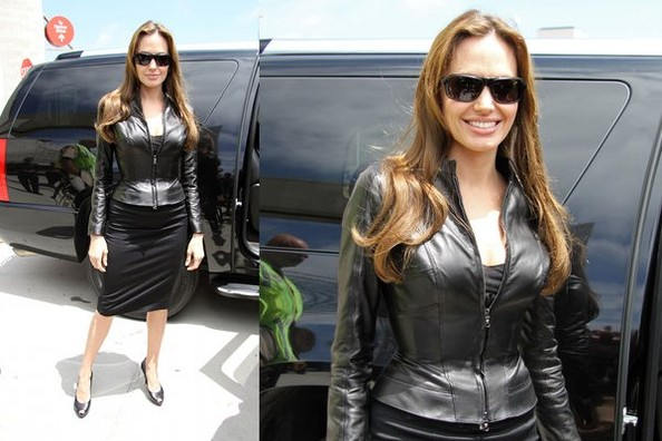 Look of the Day: Angelina Jolie at Comic-Con