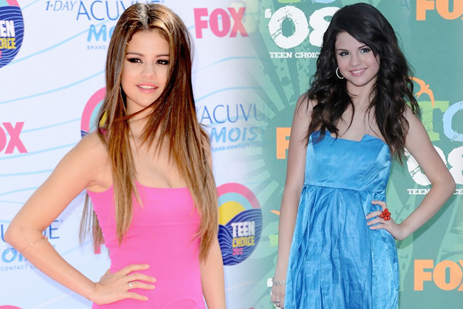 Fashion Flashback - Selena Gomez Then & Now