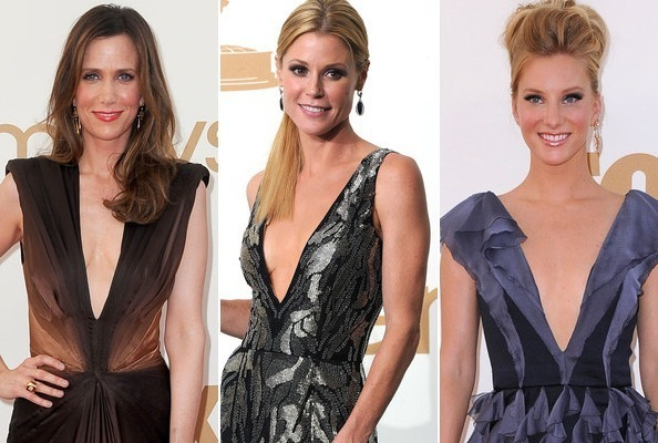 Outstanding Achievements in Plunging Emmy Necklines