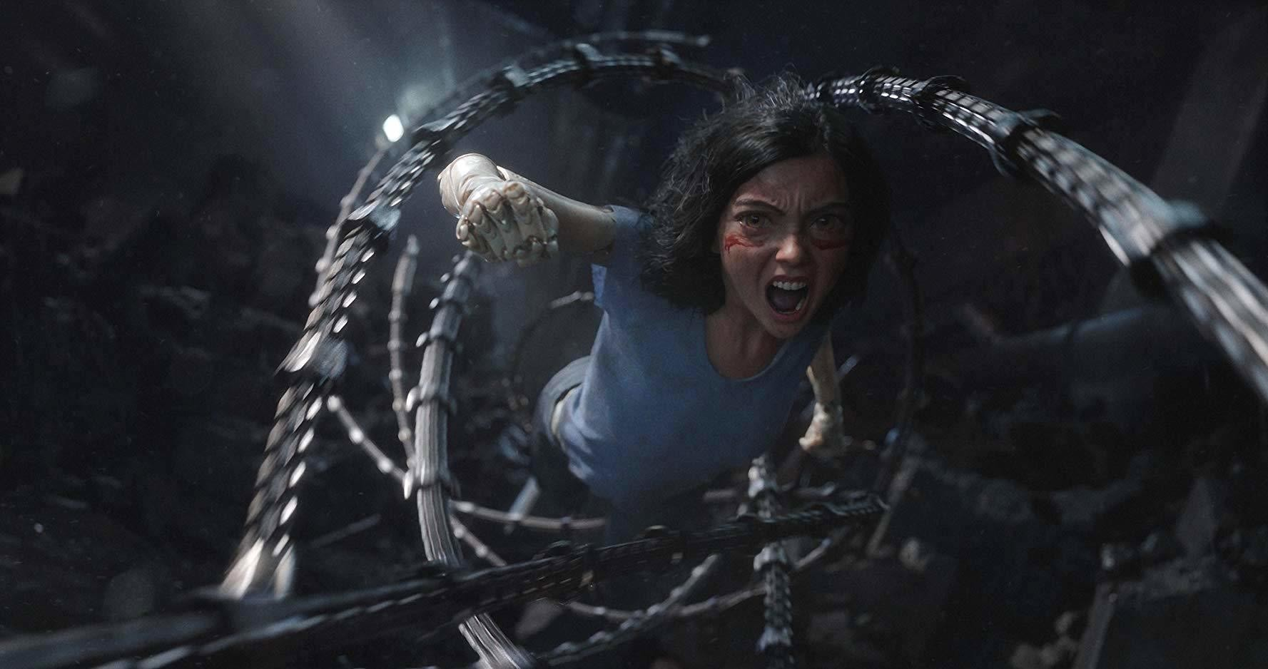 Cyborg Love, Motorball, And More Reasons Why 'Alita: Battle Angel' Is Weird