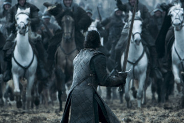 New Promos for Sunday's 'Game of Thrones' Episode 'Battle of the Bastards' Show Jon Snow in Danger Once Again