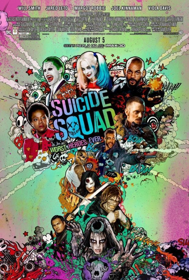 The Joker Makes Out with Harley Quinn in New 'Suicide Squad' Promo
