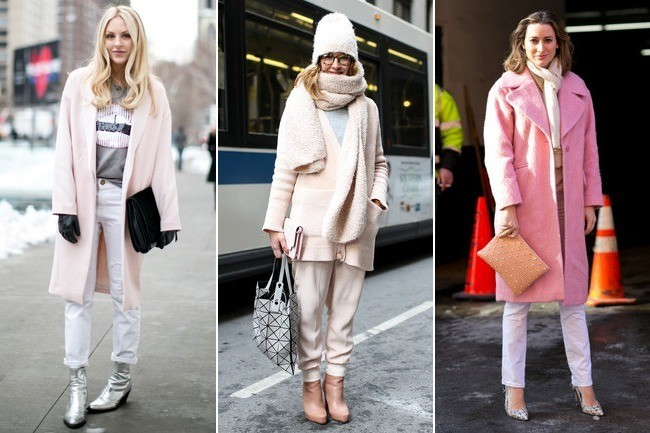 Street Style Trend: Baby Pink