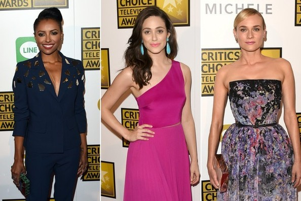 Red Carpet Glamour at the Critics' Choice Television Awards