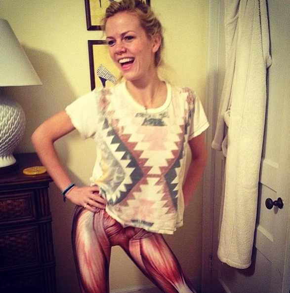 She has some serious m... Brooklyn Decker Instagram