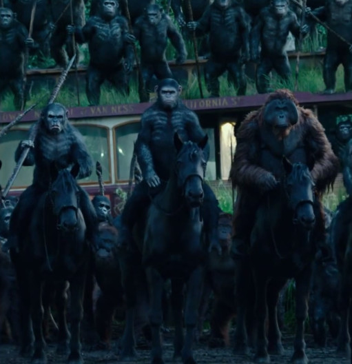 The New 'Dawn of the Planet of the Apes' Trailer Is ...