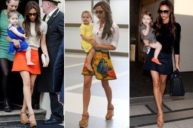 Victoria Beckham's Latest Style Obsession: A-Line Miniskirts