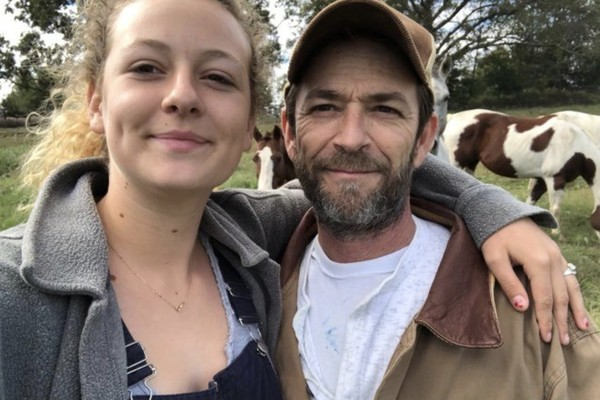 Luke Perry's Daughter Shares A Heartbreaking Post Following His Death