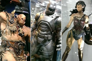 Batman's Superman-Killer Suit, and More from the Floor of Comic-Con