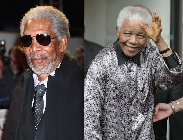 Morgan Freeman and Nelson Mandela Watched 'Invictus ...