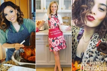 Celebrity Thanksgiving Photos 2016