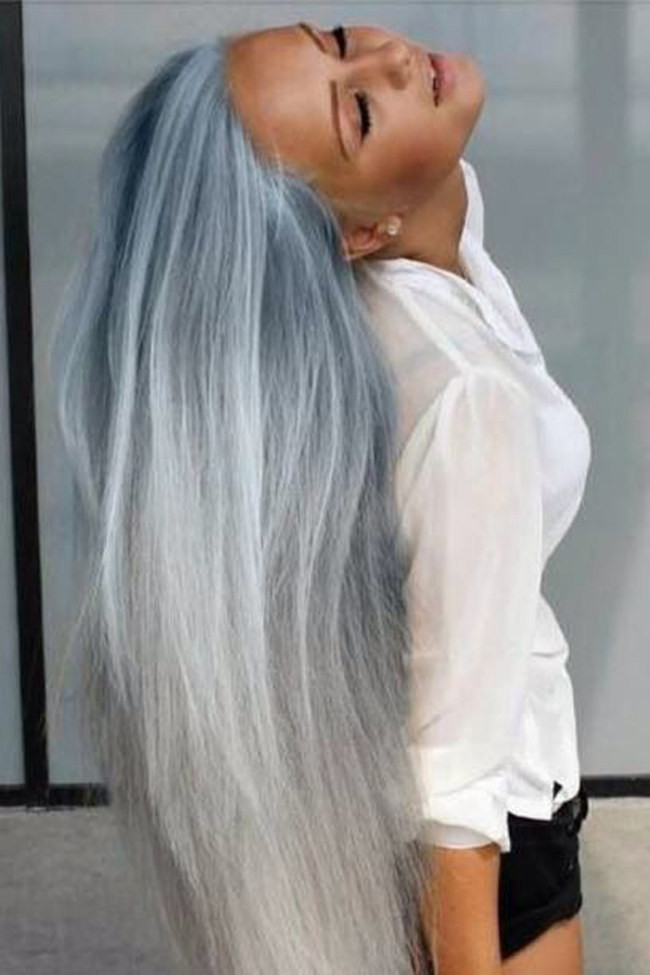 Grey Hair Looks And An Easy Tutorial That Will Have You Dying Your ...