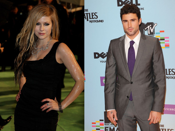 Brody Jenner And Avril Lavigne Tattoos. Rumored couple Avril Lavigne