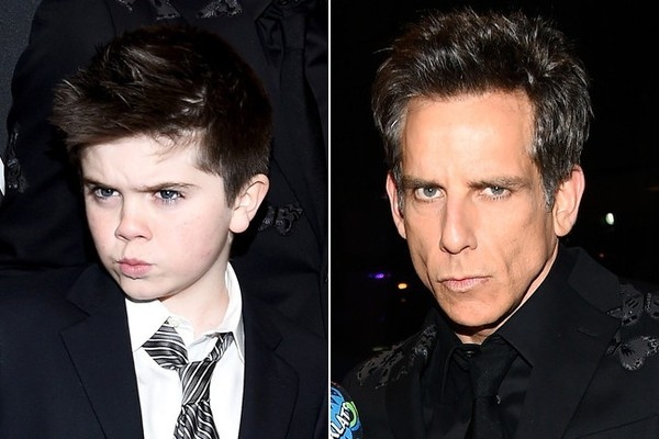 Ben Stiller's Son Quinlin Might Have Even Stronger Blue Steel Game than Zoolander Himself