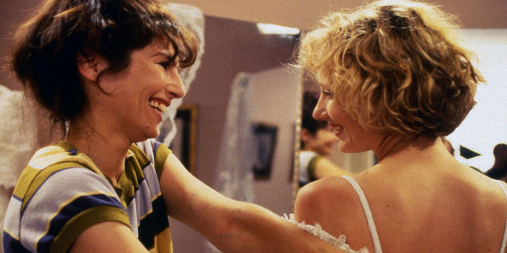 Catherine Keener and Anne Heche in Walking and Talking. (Miramax)