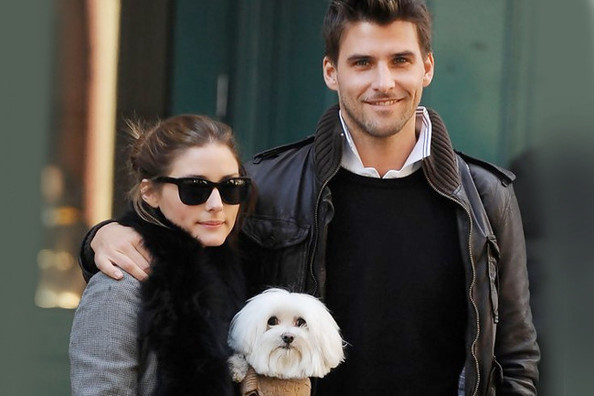 8 Cute Dog-Walking Outfits Courtesy of Olivia Palermo (and Mr. Butler)