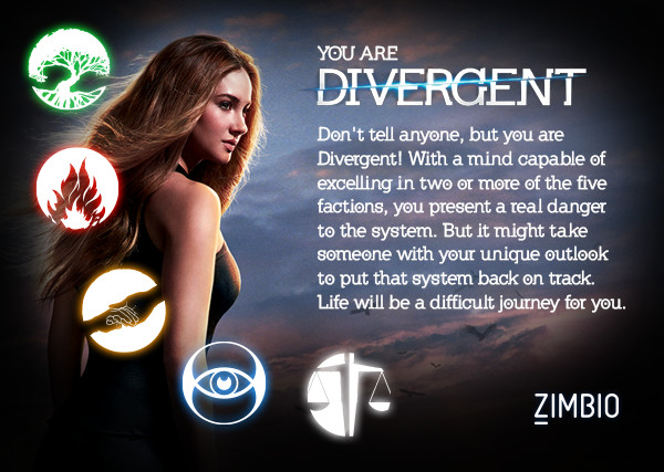 which divergent faction are you quiz zimbio