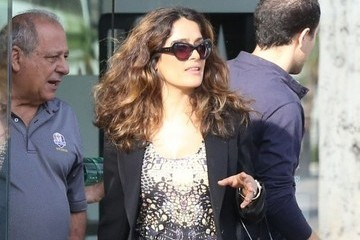 Salma Hayek Beautifies Her Home