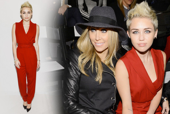 Miley Cyrus Goes '80s For Rachel Zoe