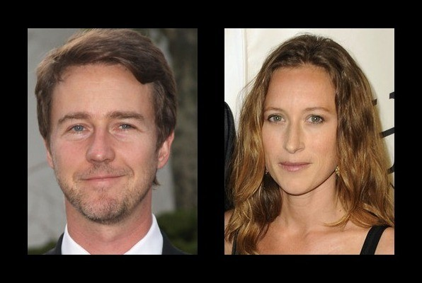 Who is edward norton currently dating