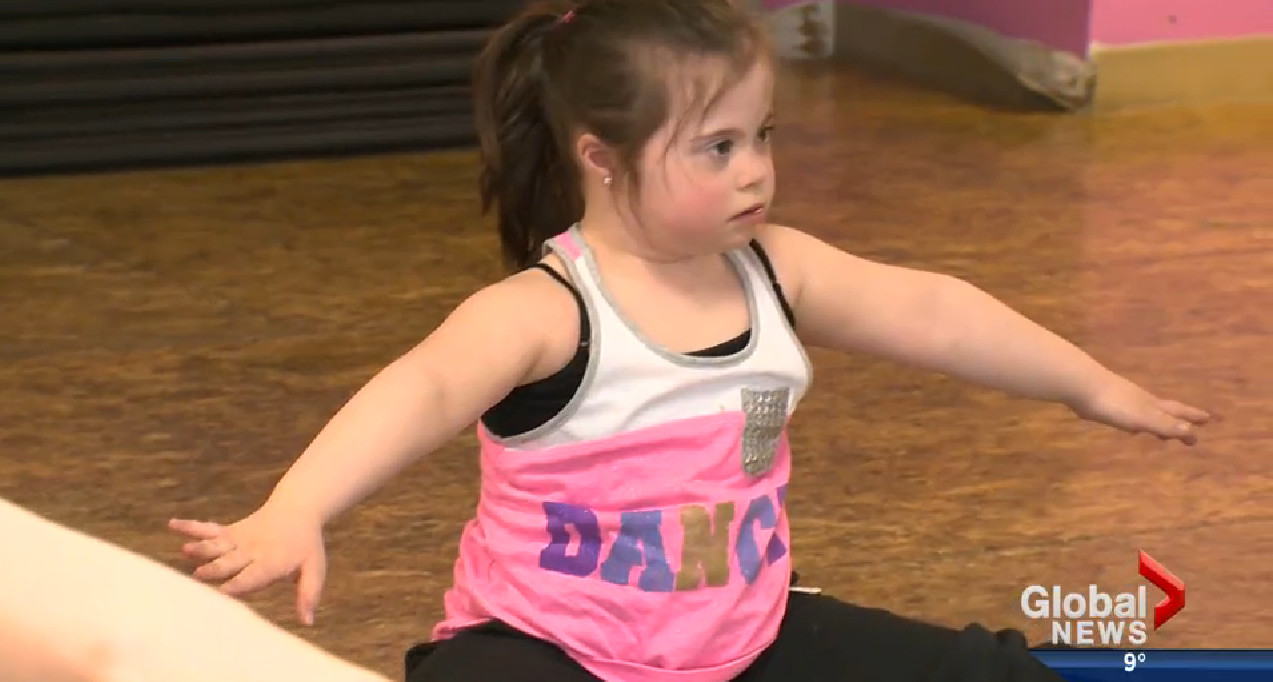 Little Girl with Down Syndrome Slays Dance Routine After Being Rejected by a Studio