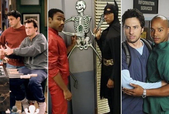 The Best TV Bromances
