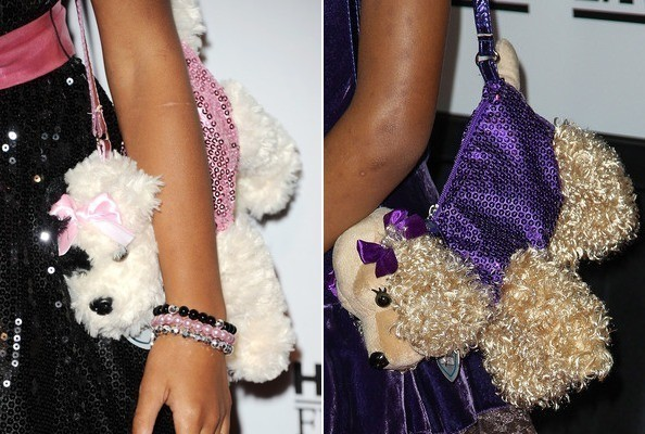 Quvenzhané Wallis's Puppy Purse Is Wearing a Dress, Has a Name [PHOTOS]