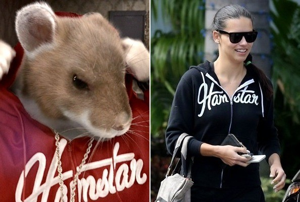 Here's What Adriana Lima Wears to the Gym - You Know Those Kia Hamsters? [PHOTOS]