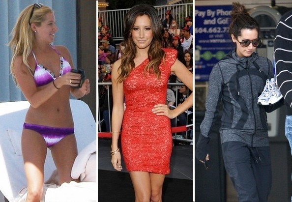 Ashley Tisdale Shows Too Much