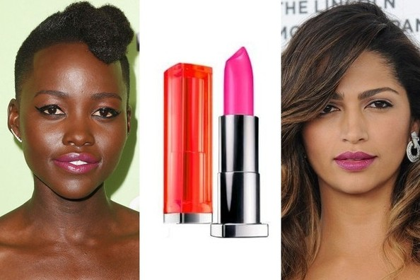 Flaming Lips: Fuchsia Lipstick Is A Spring Must