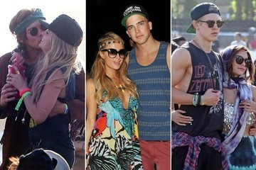 The Hottest Couples at Coachella