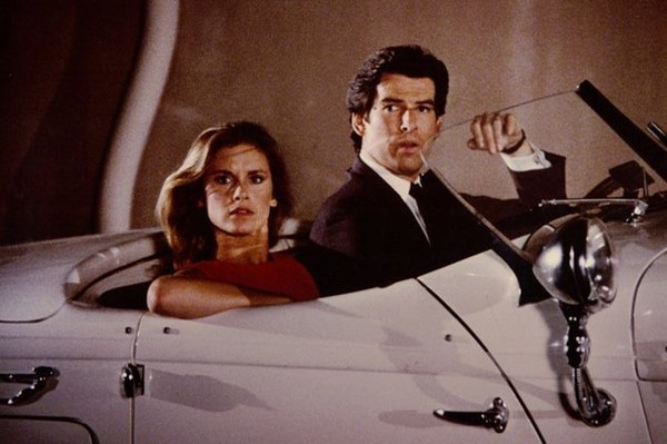 Laura Holt and Remington Steele in Remington Steele