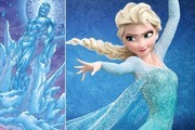 Disney Princesses and Their Superhero Soul Mates