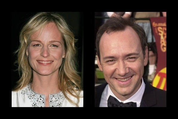 Helen Hunt dated Kevin Spacey