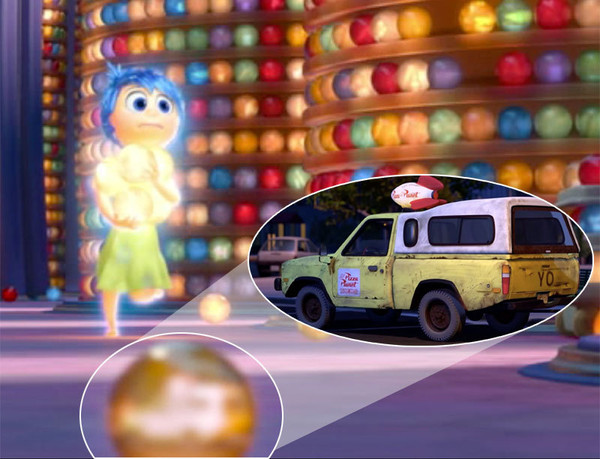 The Pizza Planet Truck In Inside Out A Closer Look At