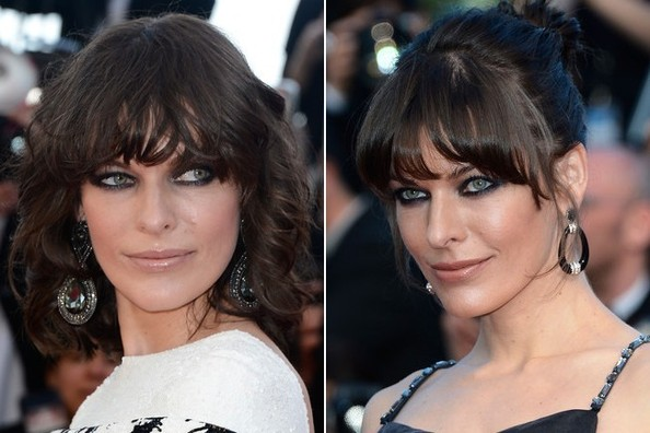 Milla Jovovich Pulls Off Two Hairstyles in One Night at Cannes